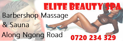 Elite Barbershop and SPA along ngong road
