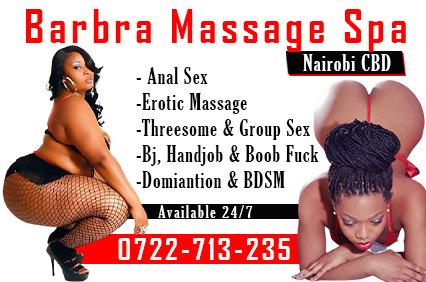 Barbra SPA Nairobi raha CBD escort. Best massage & Escorts Experence in Nairobi town CBD.